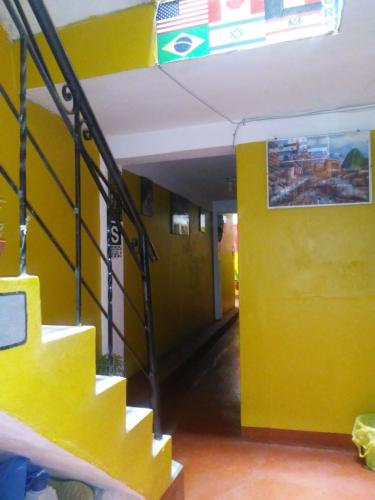 The lobby or reception area at Dream House B&B