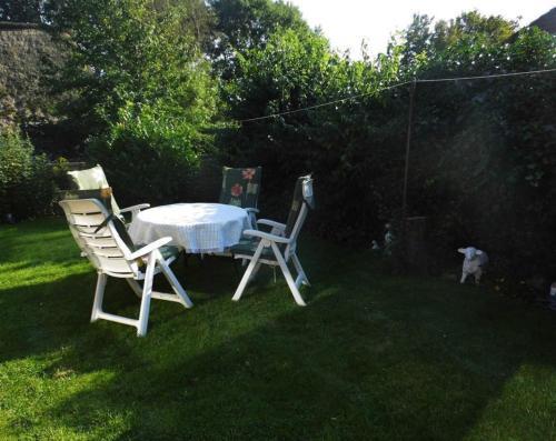 Ein Garten an der Unterkunft Haus Ramona