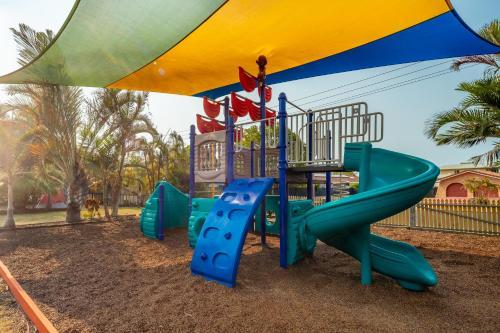 Children's play area at Ingenia Holidays Hervey Bay