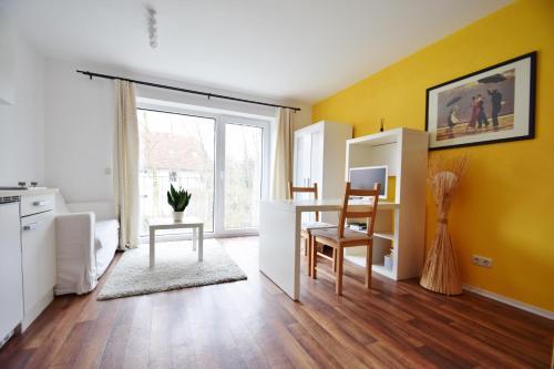 Ein Etagenbett oder Etagenbetten in einem Zimmer der Unterkunft Ferienwohnungen Wendenmühle