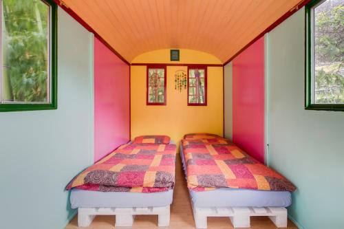 Ein Bett oder Betten in einem Zimmer der Unterkunft Agriturismo Il Mugnaio Zanetti