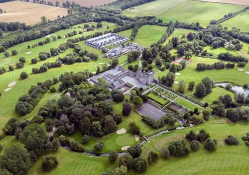 A bird's-eye view of The Lodges at Kilkea Castle