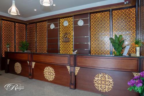 O saguão ou recepção de Rfaya Hotel