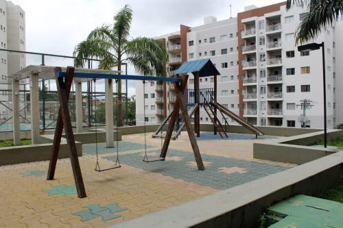 Children's play area at FLEX PARQUE 10