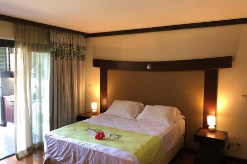 Cama ou camas em um quarto em Pacific Studio