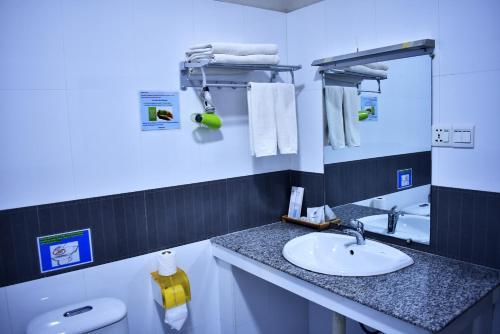 Un baño de Immana Grand Inle Hotel