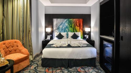 Cama ou camas em um quarto em Swiss EYE