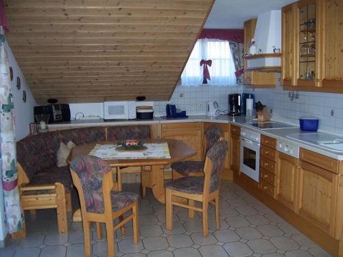 Küche/Küchenzeile in der Unterkunft Haus Schmid