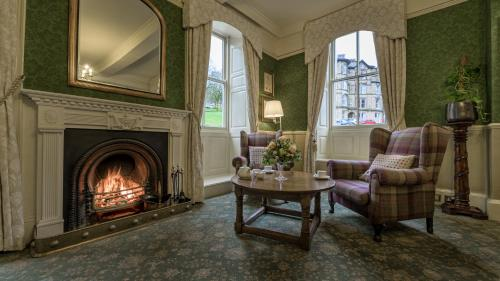A seating area at Old Hall Hotel