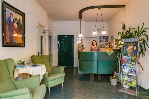 Lobby/Rezeption in der Unterkunft Hotel Overdiek