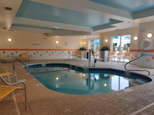 The swimming pool at or near Fairfield Inn & Suites Akron South