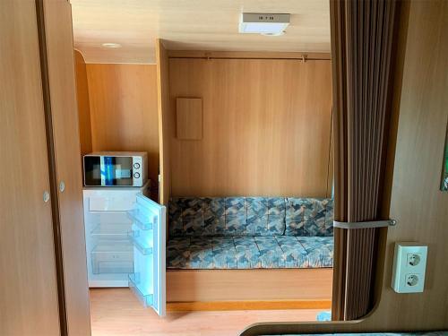 Cama o camas de una habitación en Camping Santa Tecla