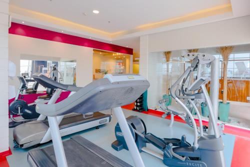The fitness center and/or fitness facilities at Pestana Curitiba