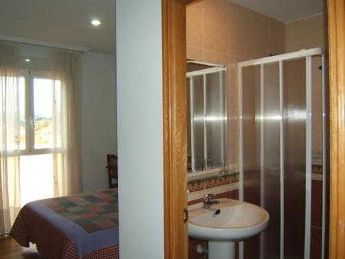 Un baño de Hotel Severino