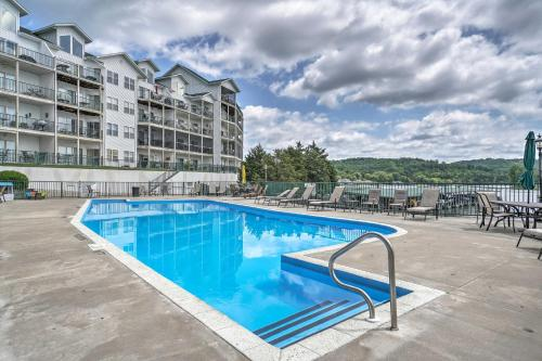 The swimming pool at or near Waterfront Condo on Lake of the Ozarks with 2 Pools!