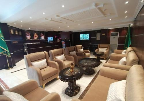 O lounge ou bar de برج سما للشقق المفروشة