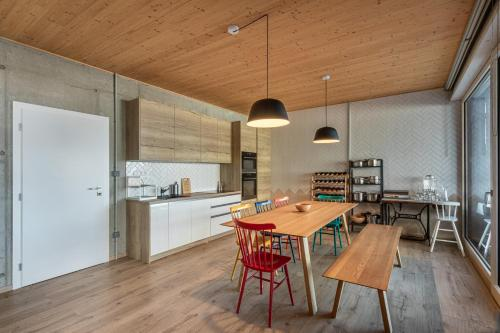 Kuchyňa alebo kuchynka v ubytovaní Villa Alma