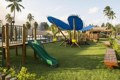 Children's play area at Novo Bangalô no Malawi Beach House com Premium Service