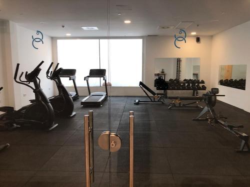 Salle ou équipements de sports de l'établissement La Cala Suites Hotel - Adults Only