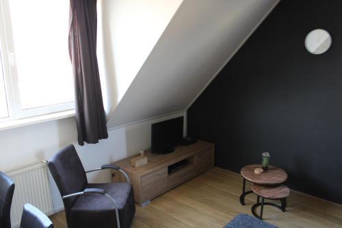 TV/Unterhaltungsangebot in der Unterkunft Wijnberg Appartementen