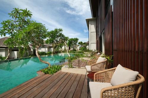 The swimming pool at or close to The Garcia Ubud Hotel & Resort