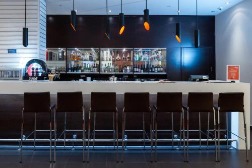 The lounge or bar area at Park Inn by Radisson Kazan