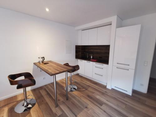 A kitchen or kitchenette at Apartment Sofia