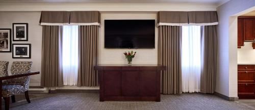 A television and/or entertainment center at Lord Elgin Hotel