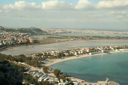 Vista aerea di B&Beach Cagliari guest house