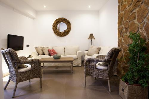 Zona de estar de Casa Del Rey