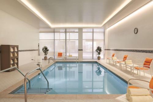 The swimming pool at or near Hyatt House Virginia Beach / Oceanfront
