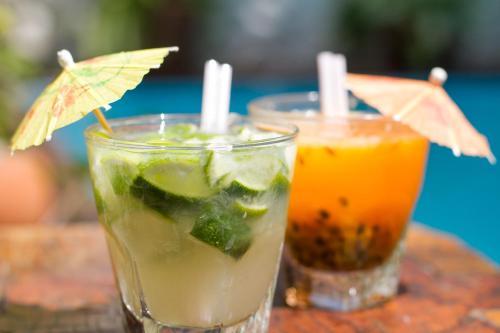 Drinks at Pousada Arte Urquijo