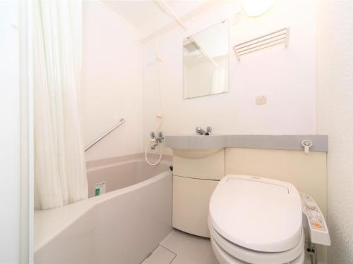 A bathroom at APA Hotel Tennoji-Ekimae