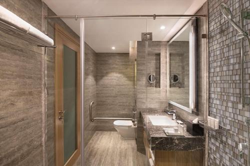 A bathroom at Radisson Mumbai Andheri MIDC