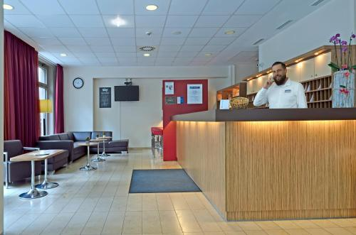 The lobby or reception area at Best Western Hotel Berlin Mitte
