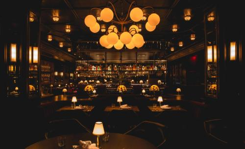 A restaurant or other place to eat at Park MGM Las Vegas