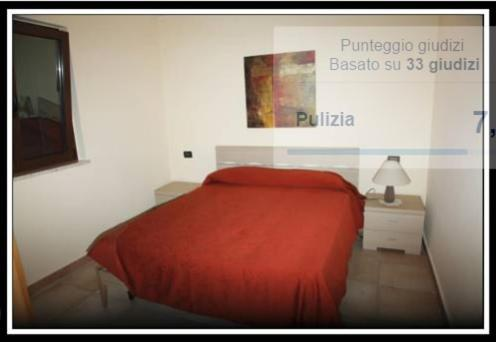 A bed or beds in a room at Villa Suber