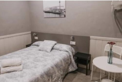 Un ou plusieurs lits dans un hébergement de l'établissement Pensión 45