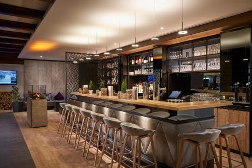 The lounge or bar area at Hyperion Hotel Garmisch – Partenkirchen