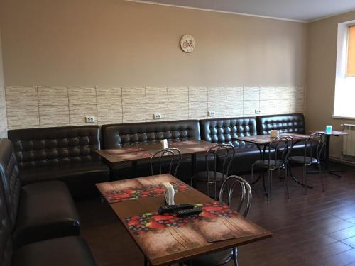 Un restaurant sau alt loc unde se poate mânca la Yurus Hostel
