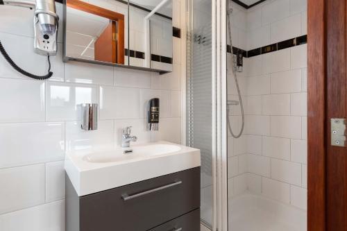 Salle de bains dans l'établissement Strandhotel Scheveningen