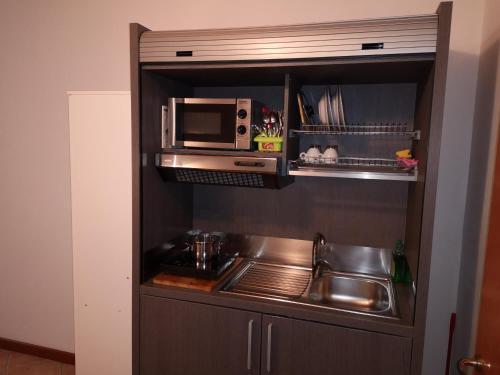 Cucina o angolo cottura di Ca' Del Sasso