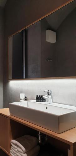 A bathroom at Stella Sky