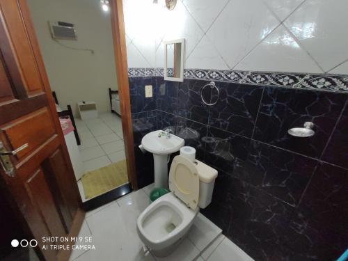 A bathroom at Pousada da Iza