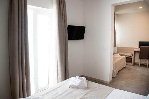 TV o dispositivi per l'intrattenimento presso Hotel Solemare