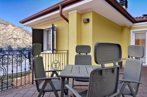 A balcony or terrace at Casa Antonio