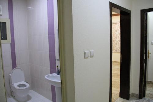Um banheiro em Ahla Makan