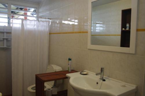 Um banheiro em TAHITI - Taapuna Cottage