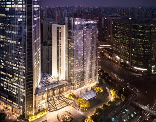 منظر إنتركونتيننتال شنغهاي جينغ آن من الأعلى