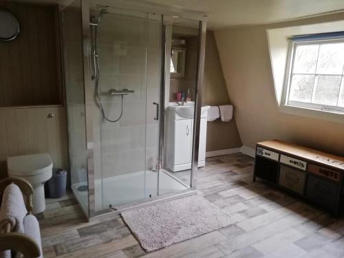 A bathroom at Dolphin House
